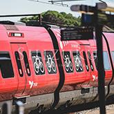 デンマークの電車