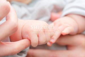 赤ちゃんのお手手