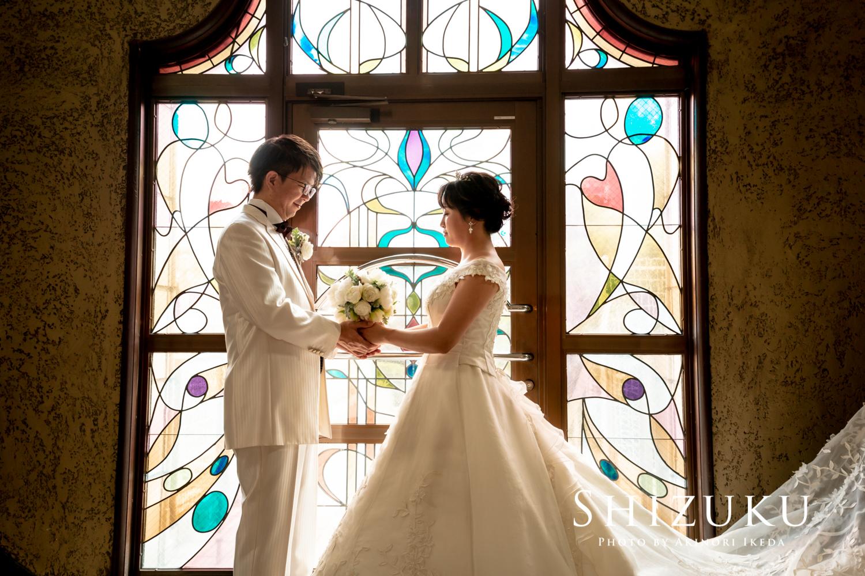 静岡市役所本館での婚礼前撮り